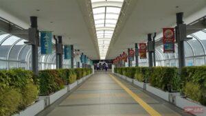 ทางเชื่อมที่ 2 ระหว่าง Terminal กับส่วนของโรงแรมที่พัก