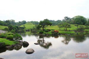 บรรยากาศใน สวนซุยเซนจิ (SUIZENJI JOJUEN)