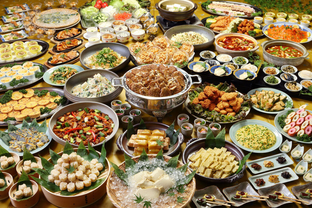 Lunch buffet style 2