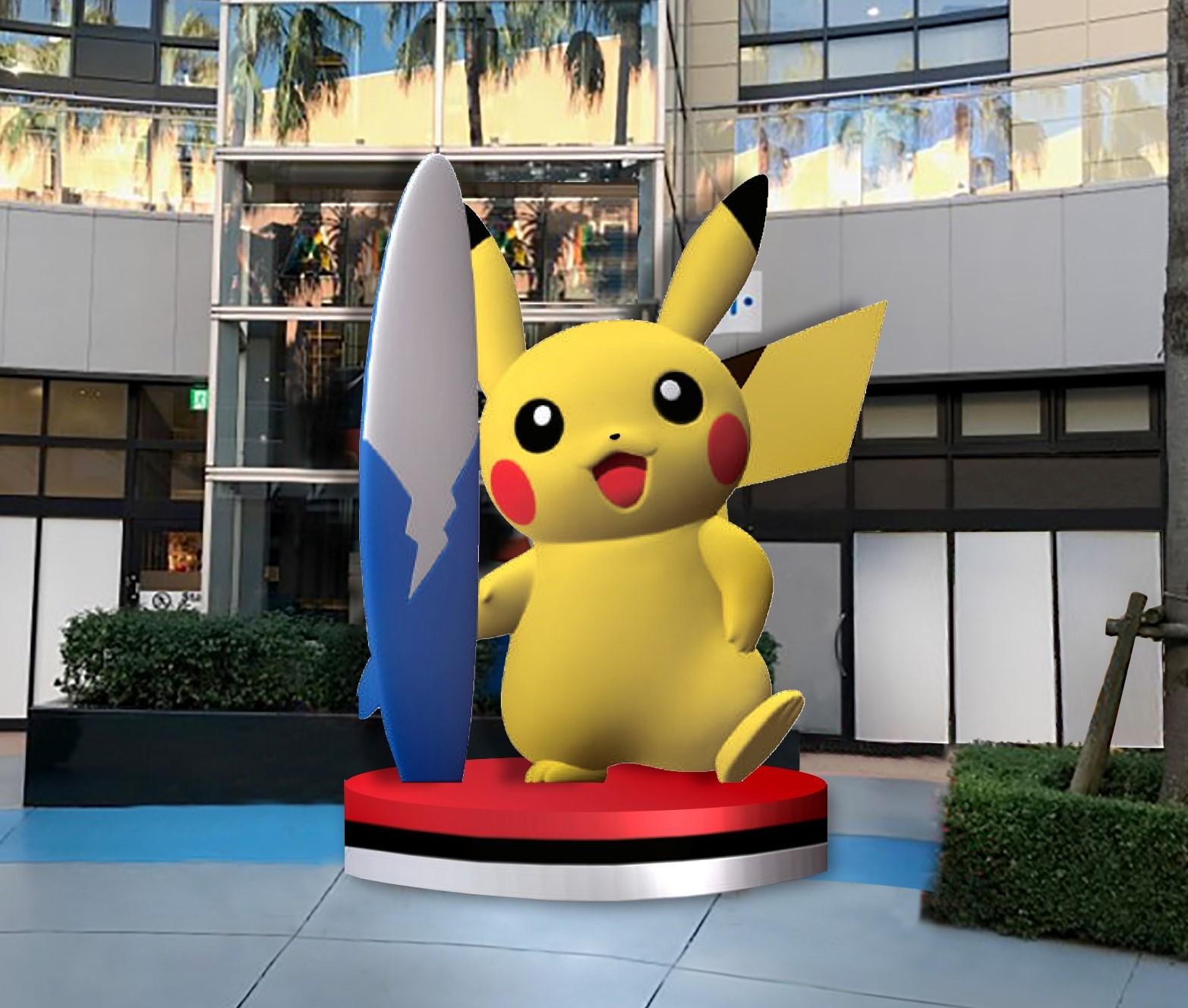 1 Pikachu Monument 2